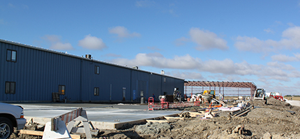 2010, Hy-Capacity headquarters adds 30,000 square foot addition to facilities in Humboldt