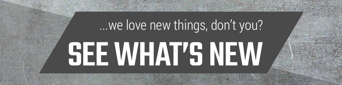 We love new things, don't you? See whats new! Shop new arrivals