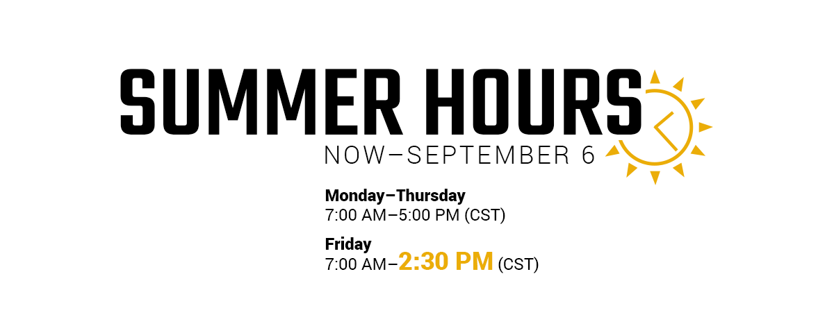 Hy-Capacity Summer Hours