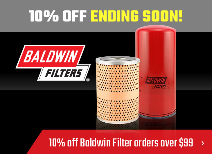 Baldwin Filter Special Last Days