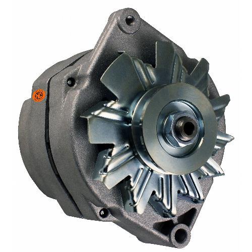 Alternator - New, 12V, 72A, 10SI, Aftermarket Delco Remy