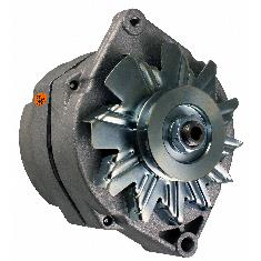 Alternator - New, 12V, 72A, 10SI, Aftermarket Delco Remy