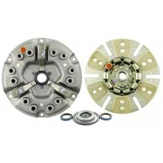 "12"" Single Stage Clutch Kit, w/ 6 Pad Disc, Bearings & Seals - Reman"