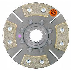 "7"" TA Disc, 4 Pad, w/ 1-1/2"" 14 Spline Hub - Reman"
