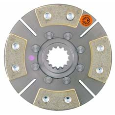 "7"" TA Disc, 4 Pad, w/ 1-1/2"" 14 Spline Hub - New"