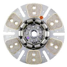 "12"" Transmission Disc, 6 Pad, w/ 1-3/16"" 11 Spline Hub - Reman"