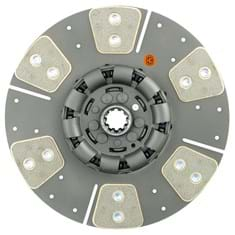 "11"" Transmission Disc, 6 Pad, w/ 1-1/8"" 10 Spline Hub - Reman"