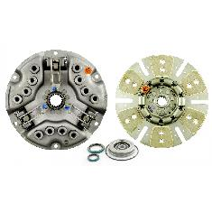 "12"" Single Stage Clutch Kit, w/ 6 Large Pad Disc, Bearings & Seals - Reman"