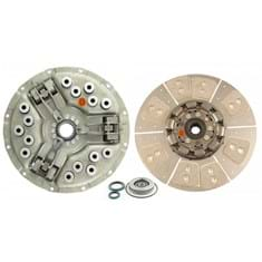 "14"" Single Stage Clutch Kit, w/ 8 Large Pad Disc, Bearings & Seals - Reman"