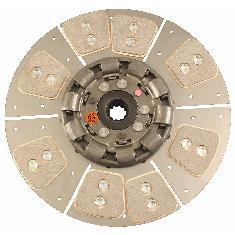 "14"" Transmission Disc, 8 Pad, w/ 1-3/16"" 11 Spline Hub - Reman"