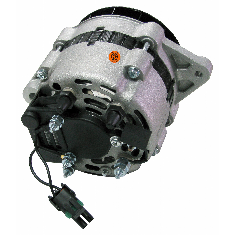 Alternator - New, 12V, 55A, Aftermarket Mando