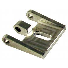 Universal Single Row Bar Lamp Mounting Bracket, Low Profile