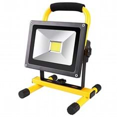 Epistar LED Dimmable & Rechargeable Flood Beam Shop Light, 2400 Lumens