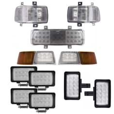CREE LED Flood Beam Light Kit for Case IH Magnum Tractors- (Pkg. of 11)