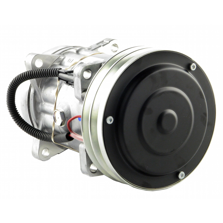 Genuine Sanden SD7H15SHD Compressor, w/ 2 Groove Clutch - New