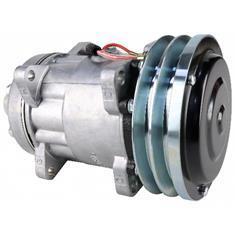 Sanden SD7H15SHD Compressor, w/ 2 Groove Clutch - New
