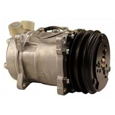 Sanden SD5H14 Compressor, w/ 2 Groove Clutch - New