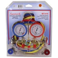 Manifold Gauge Set, R134A, Brass
