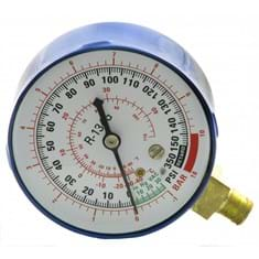 Low Side Replacement Gauge, R134A, Blue