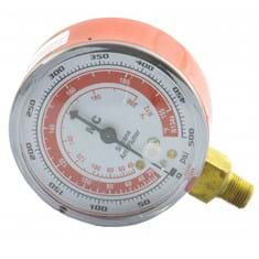 Low Side Replacement Gauge, R134A, Red