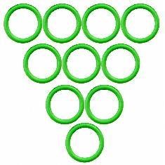 Suction & Discharge O-Ring, A6 & R4, (Pkg. of 10)