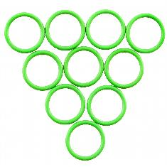 Nippondenso Suction & Discharge O-Rings, (Pkg. of 10)