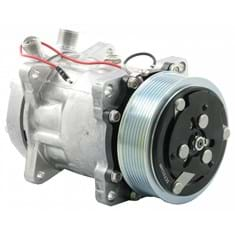 Genuine Sanden SD7H15 Compressor, w/ 8 Groove Clutch - New