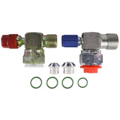 York & Tecumseh Shut Off Valve Replacement Kit, Tube-O, R134A