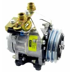 Genuine Sanden/York SD7H15 Compressor, w/ 2 Groove Clutch - New