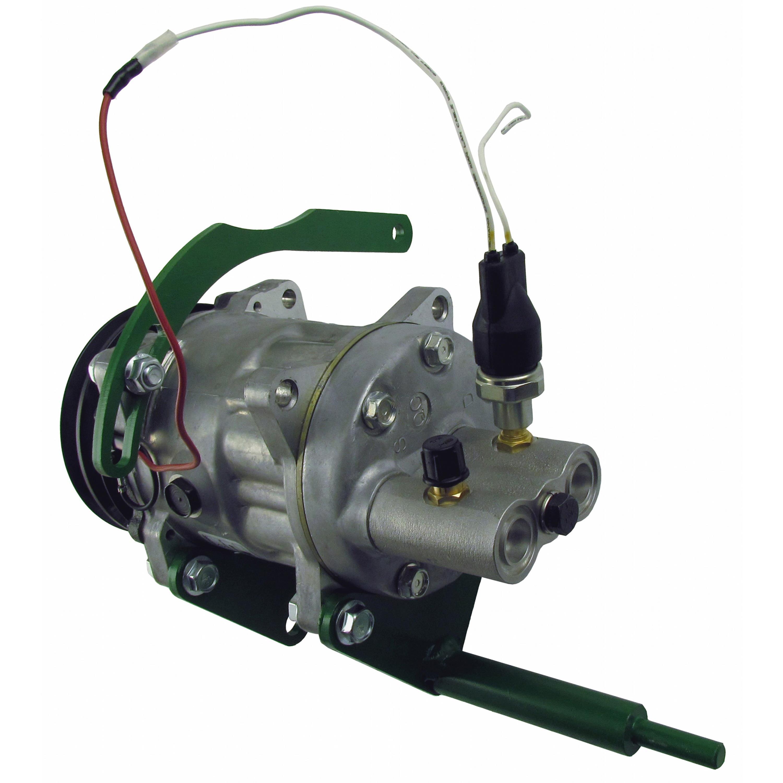 Compressor Conversion Kit, Delco A6 to Sanden, w/ Single Switch