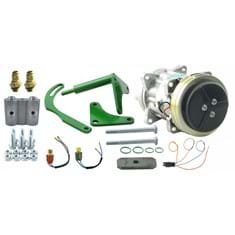 Compressor Conversion Kit, Delco A6 to Sanden, w/ Dual Switch