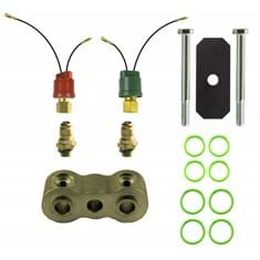 "Dual High & Low Pressure Switch Kit, w/ 3/4"" Spacer"