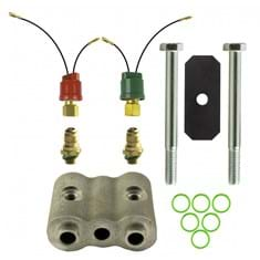 "Dual High & Low Pressure Switch Kit, w/ 2"" Spacer"