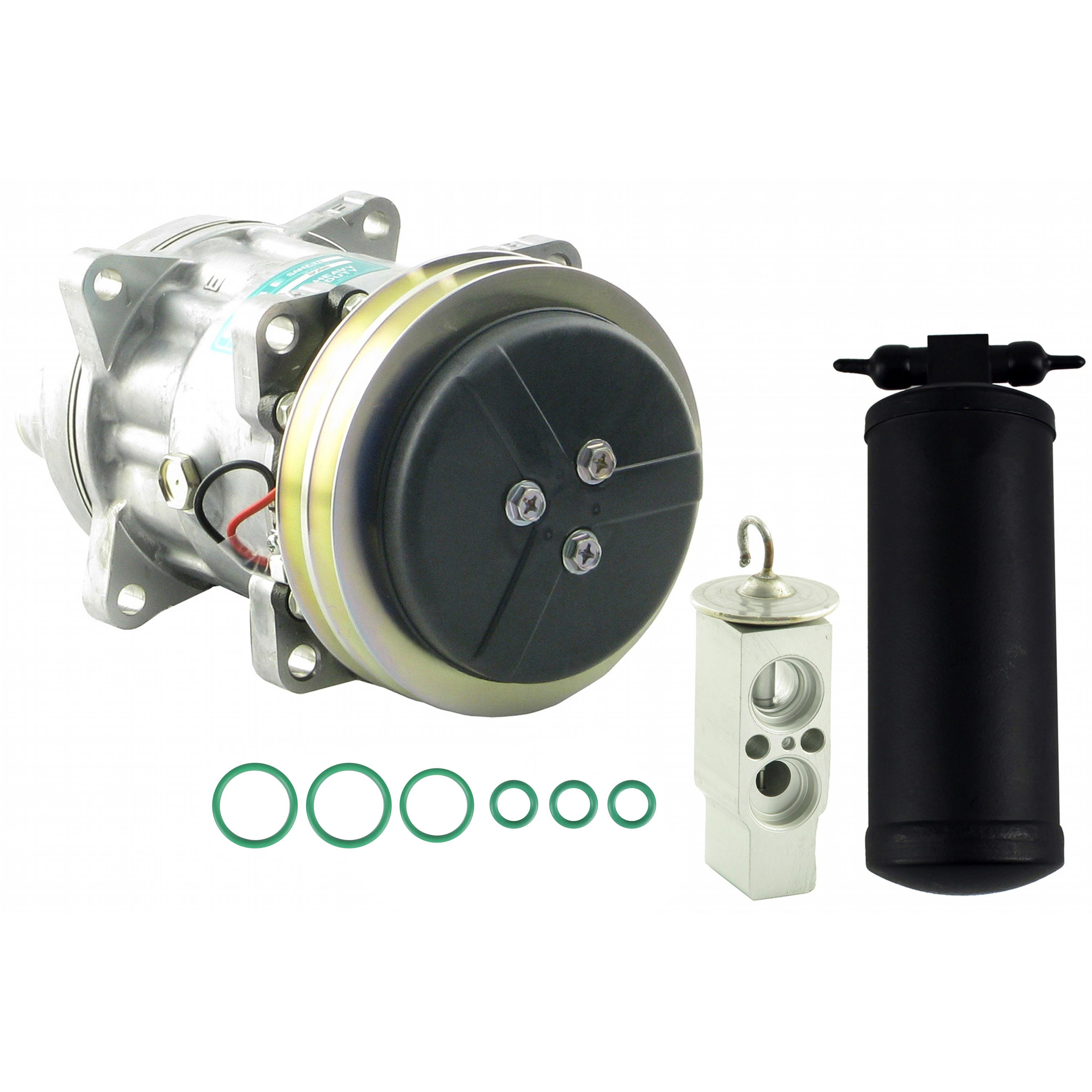 Compressor, Drier & Valve Kit