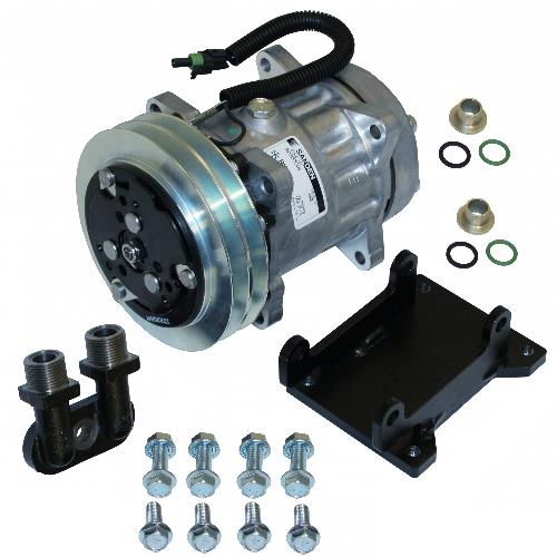Compressor Conversion Kit, York to Sanden, Direct Mount