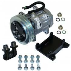 Compressor Conversion Kit, York to Sanden, Direct Mount