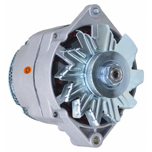 Alternator - New, 12V, 105A, 10SI, Aftermarket Delco Remy