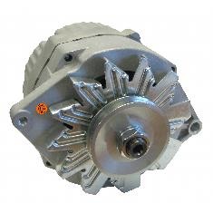 Alternator - New, 12V, 63A, 10SI, Aftermarket Delco Remy