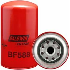 Baldwin Fuel Filter, Secondary, Spin-On - Case of 12