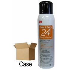 3M Foam & Fabric 24 Spray Adhesive, (Case of 12)