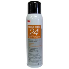 3M Foam & Fabric 24 Spray Adhesive, (15 oz. Can)