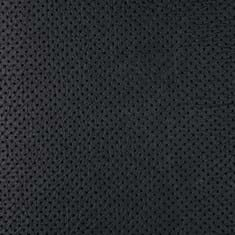 Black Perforated Vinyl Foam Material, Sold Per Running Yard