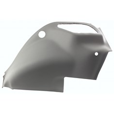 RH Fender, Smoke Gray Vinyl w/ Formed Plastic