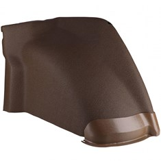 LH Fender, Multi-Brown Vinyl w/ Formed Plastic, Standard