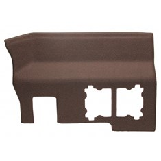 Rear Panel, Multi-Brown Vinyl w/ Formed Plastic, Early S/N