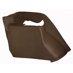 LH Fender, Multi-Brown Vinyl w/ Formed Plastic & Passenger Seat