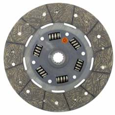 "9-1/2"" Transmission Disc, Woven, w/ 15/16"" 13 Spline Hub - New"