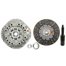 "13"" Single Stage Clutch Kit, w/ Solid Center Disc, Bearings & Alignment Tool - Reman"