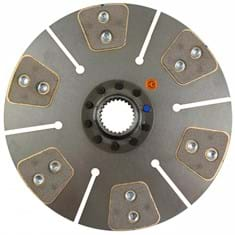 "11"" Transmission Disc, 6 Pad, w/ 1-5/8"" 25 Spline Hub - Reman"
