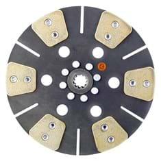 "11"" Transmission Disc, 6 Pad, w/ 1"" 10 Spline Hub - New"